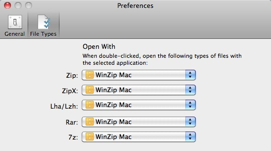 winrar for mac preferences